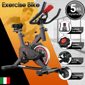 Ciclette per casa Bicicletta per Allenamento, per Spinning,Volano bidirezional