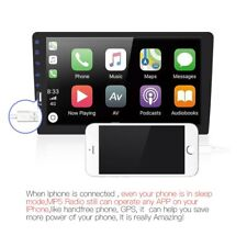 9'' 2Din Car FM MP5 Player Stereo Radio BT Head Unit for Apple Carplay Android