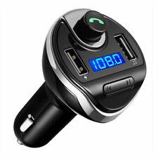 Radio FM-Sender Dual USB Kabellos Bluetooth Freisprecheinrichtung Auto Zubehör