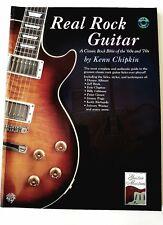 Kenn Chipkin: Real Rock Guitar (CD included) (Music Book)
