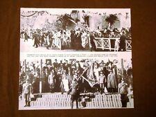 Il Fascismo in Italia Colonialismo Tripoli Consegna bandiera a indigeni I.Balbo