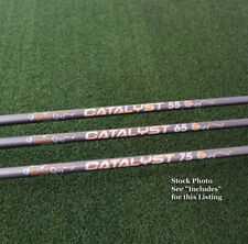 Project X Catalyst Orange Iron Shafts .370 Parallel Tip - Choose Flex&Qty - NEW