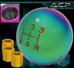 For Gmc Jdm Vip Weight Round Ball Race Shift Knob Select Lever M8 M10 M12 Neo