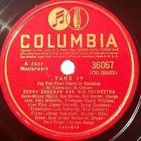 Benny Goodman Orchestra: Take It / Yours: Columbia 1941 (Jazz)