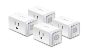 Smart Home Wi-Fi Outlet Works with Alexa, No Hub Required, Remote Control, 15 Am