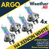 4x Super Blanco H4 472 P43t Xenon Estilo Coche Bombilla para Faro Actualización