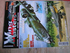$$u Revue Wing Masters N°24 A-10 Thunderbolt II  Messerschmitt Bf 109E-7  Fouga
