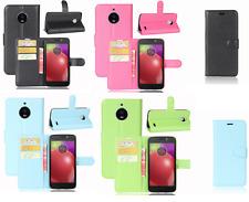 Étui X Motorola Moto E4 XT1762 / Plus XT1771 Coque Flip Livre Stand