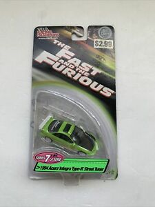 The Fast And The Furious Racing Champions 1994 Acura Integra Type-R Car 1:64
