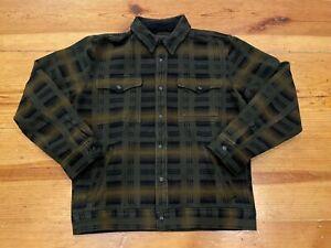 Filson Beartooth Camp Jacket Black/Olive/Brown, sz. M NWT