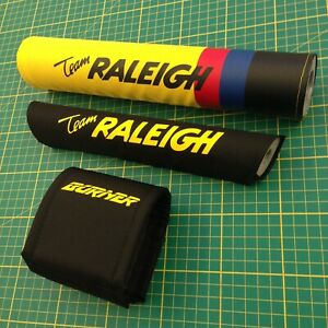 Team Raleigh Burner Padset - Reverse Version - Old School BMX
