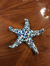 Ceramic barcino star fish