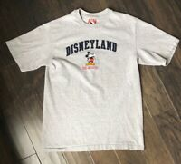Vintage Single Stitch Made In The USA Disneyland Mickey Mouse The Original Sz L