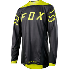 Fox Racing Flexair Long Sleeve L/S Jersey Moth Black/Yellow