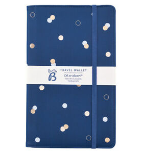 Busy B Travel Wallet Passport Holder Family Travel Wallet Travel Document Holder