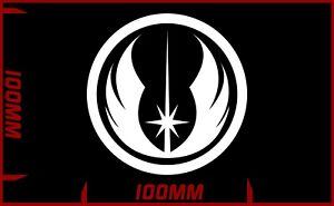 Star wars Jedi Order logo decal vinyl sticker choose your colour