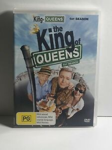 The King Of Queens - Season 1 Comedy R4 DVD Box Set Fast & Free Aus Shipping