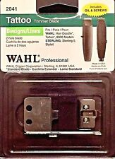 WAHL PROFESSIONAL # 2041 DESIGNER /LINES TATTOO TRIMMER  BLADE UPC,043917204109