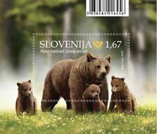 Slovenia stamps 2019. - Fauna - Brown Bear (miniature sheet)