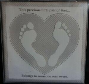 Footprint Canvas By Child to Cherish