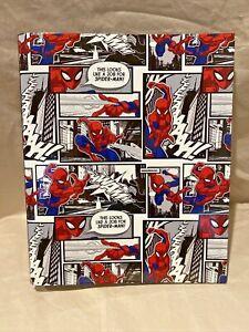 "Marvel Spider-Man 4 Ring 1.5"" Binder NEW"
