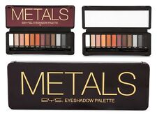 BYS Metals Eyeshadow Palette 12 Colours 12g