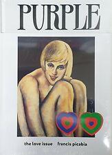 Purple fashion magazine 2020 ~ the love issue #Francis Picabia