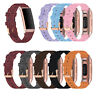 Replacement Nylon Fabric Strap Band for Fitbit Charge 4 3 Spare Woven Watchband