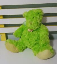 TEDDY AND FRIENDS TEDDY BEAR GREEN TEDDY EGLINTON 30CM