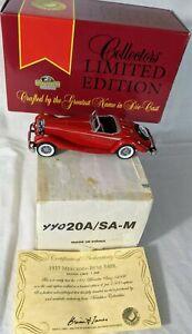 MATCHBOX COLLECTORS LIMITED EDITION 1937 MERCEDES-BENZ 540K YY020A/SA-M NIB