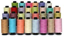 30 Light Colour Cotton Sewing Thread Spools Set  *T.S Cotton BEST DEAL*