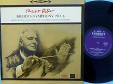 Bruno Walter Columbia Symphony ORIG OZ LP Brahms: Symphony No.4 Coronet KLCS2730