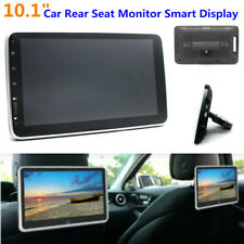 """10.1"""" HD Car Rear Seat Screen Monitor Android 9.1 Headrest Smart MP5 Player Wifi"""