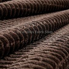 10 mètre rouleau décoration ameublement tissu effet brique motif velours chocolat