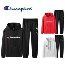 Champion Herren Damen Kapuzenpullover Jogginghose Sportanzug Pulli Sweatshirt
