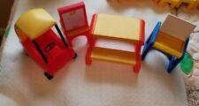 Little Tikes  Dollhouse Cozy Coupe, Picnic Table, Easel, Desk
