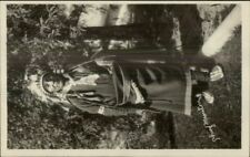 Native American Indian Chief Manitou c1910 Real Photo Postcard #2 EXC COND