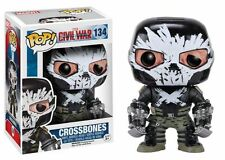 Funko POP Marvel: Captain America 3: Civil War Action Figure - Crossbones #134