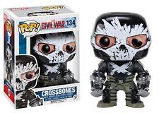 Funko POP Marvel: Captain America 3: Civil War Action Figure - Crossbones #134