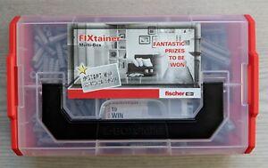 Fischer FIXtainer SX-Box Multi-Box Nylon Wall Plugs