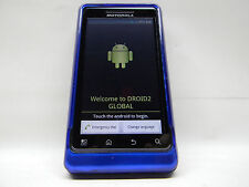 Motorola Droid 2 Global 8GB Blue Android Smartphone Verizon #620