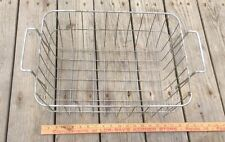 Vintage Metal Wire Rack, Two Handles , Country Basket ,