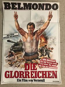 Jean Paul Belmondo, Die Glorreichen - Original Filmplakat A1