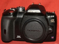 Olympus E-510 Digital SLR Camera + extras