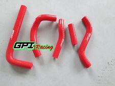 silicone radiator hose SUZUKI RMZ250 RMZ 250 M-Z 250 2010 2011 10 11 RED