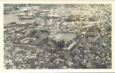 mauritius, PORT LOUIS, Aerial View (1940s) RPPC