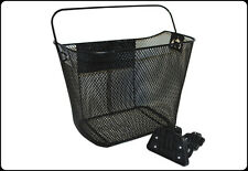 PREMIER BASKET CLOSED MESH + PLASTIC Q/R BRACKET