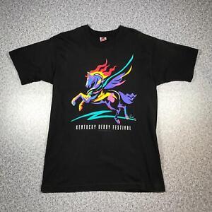 1995 Vintage KENTUCKY DERBY FESTIVAL Mens T Shirt Large | Single Stitch USA