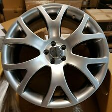 Set of (5) 19x8.0 5x100 67.1 Alloy Wheels et35 Hyper Silver | Marked see desc