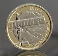 2017 Royal Mint First World War Aviation Two Pound £2 Coin BU Uncirculated COIN
